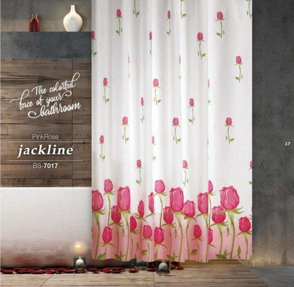 Zethome Jackline 7017 Banyo Duş Perdesi Çift Kanat 2x120x200