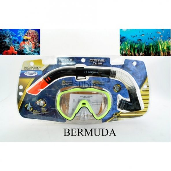 Bermuda Maske & Şnorkel Seti 2303A/121