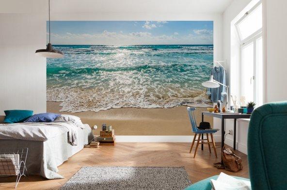 8-983 Seaside Komar Poster Duvar Kağıdı