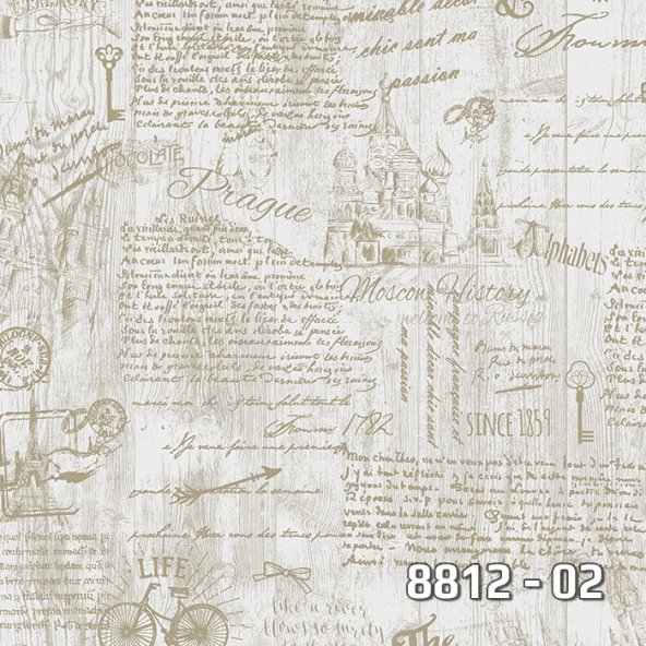 8812-02 Royal Port duvar kağıdı 16,5 m2