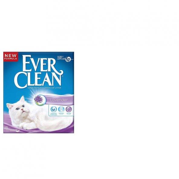 Kediler İçin Koku Giderici Lavantalı Ever Clean Kedi Kumu 6Lt