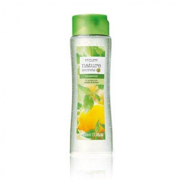 Nature Secrets Yağlı Saçlar için Isırgan ve Limon Özlü Şampuan