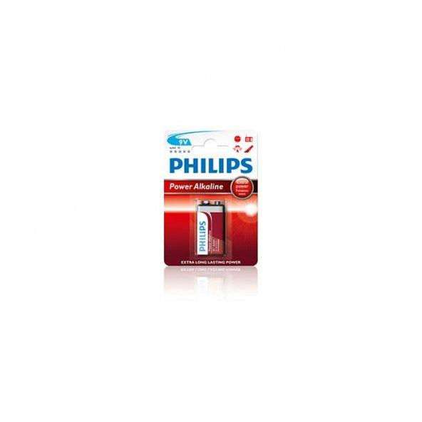 Philips LR61P1B Alkaline 9V Pil
