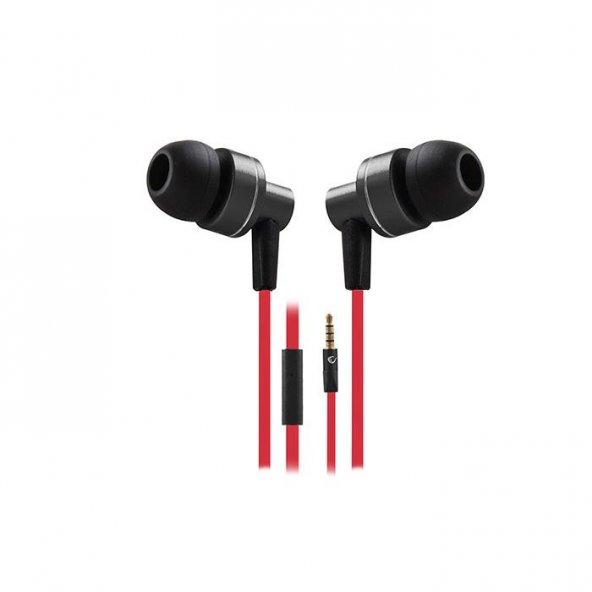 Snopy Rampage Phoenix Mobil Telefon Uyumlu Kulak içi Siyah/kırmızı Mikrofonlu Kulaklık