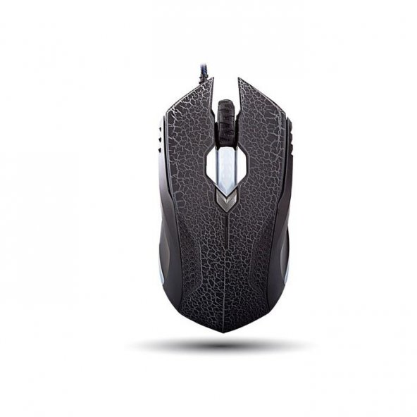 Everest SMX-308M Usb Siyah / Mor Desenli 6D Optik Oyun Mouse