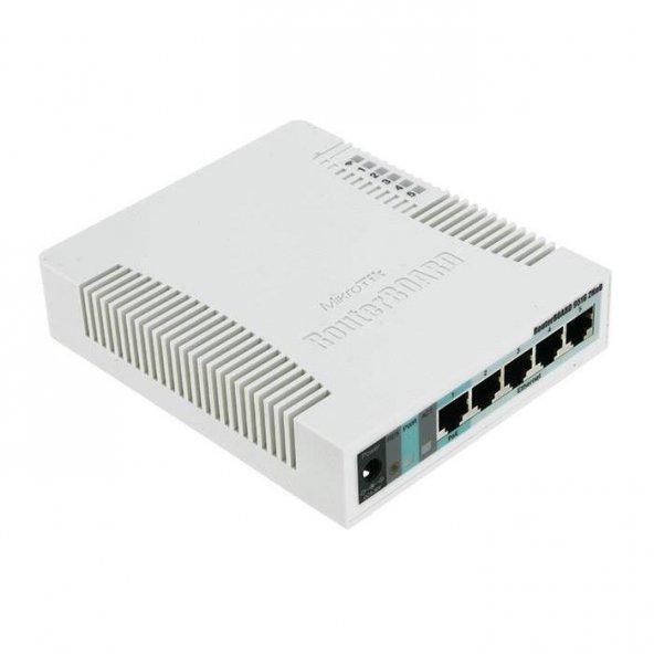 Mikrotik RB951G-2HnD RouterBOARD 5Port 1000Mbps Kablosuz Access Point