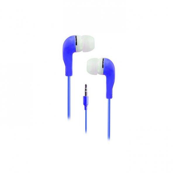 Snopy SN-78 MP3 Kulak İçi Mavi Kulaklık
