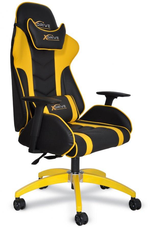 xDrive ATAK Profesyonel Oyuncu Koltuğu Sarı/Siyah
