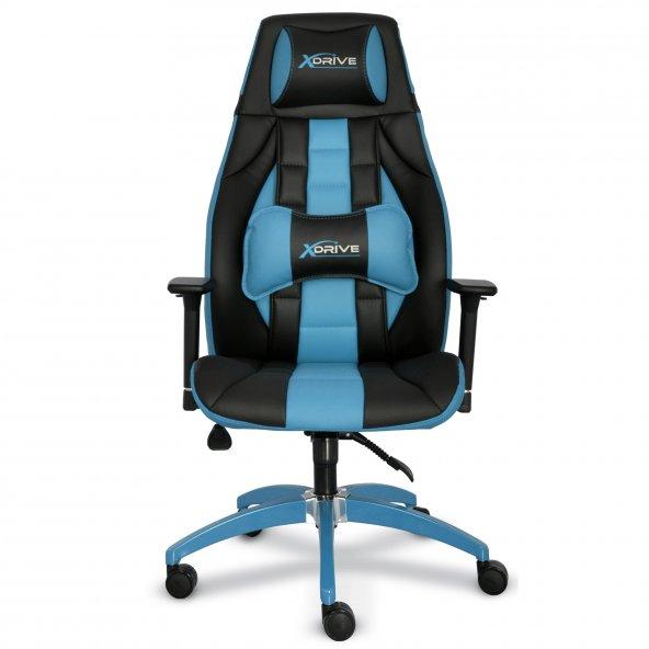 xDrive 1453 Profesyonel Oyuncu Koltuğu Mavi/Siyah