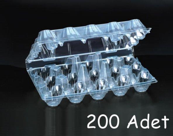Plastik 15'li Yumurta Viyolü (200 Adet) AnkaraViyol-ViyolPazarı