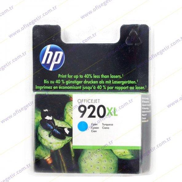 HP 920XL MAVİ ORİJİNAL KARTUŞ