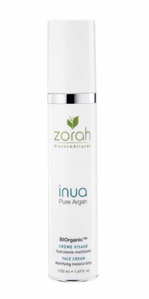 Zorah Inua Nemlendirici Ve Yağ Düzenleyici Krem 50 ml