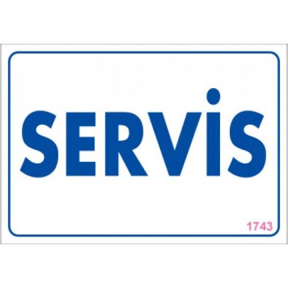 Pvc iş güvenliği levhası - servis