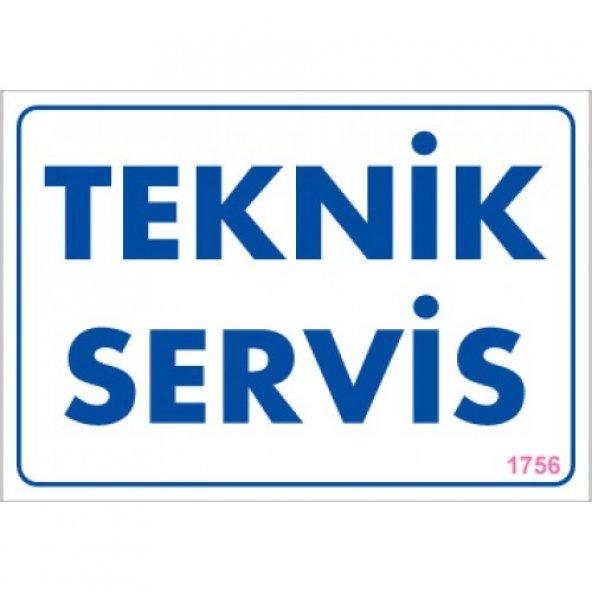 Pvc iş güvenliği levhası - teknik servis