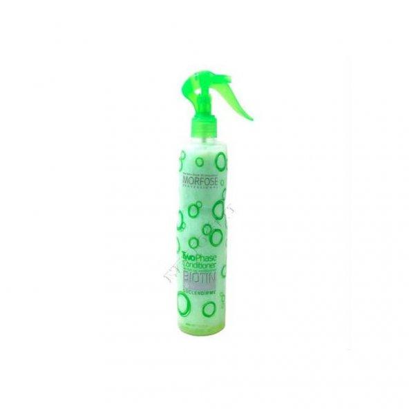 Morfose Biotin İki Fazlı Fön Suyu 400 ml Tüm Saçlar İçin