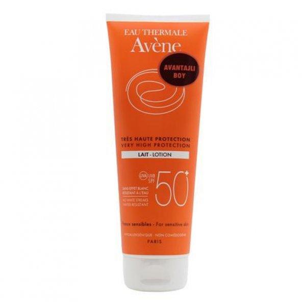 Avene Lait SPF 50+ 250 ml Vücut Losyonu
