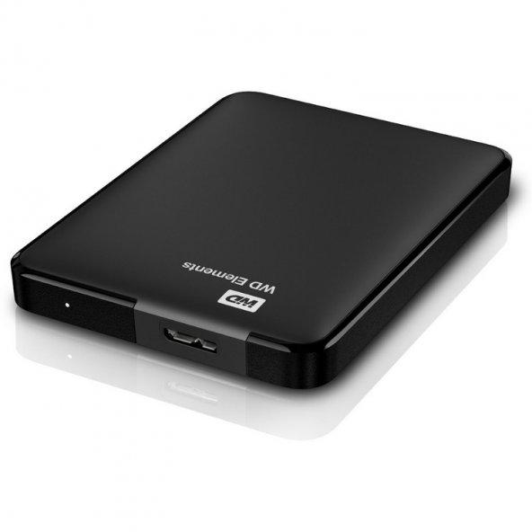 WD Elements 1TB 2.5 USB 3.0 Taşınabilir Disk (WDBUZG0010BBK-EESN
