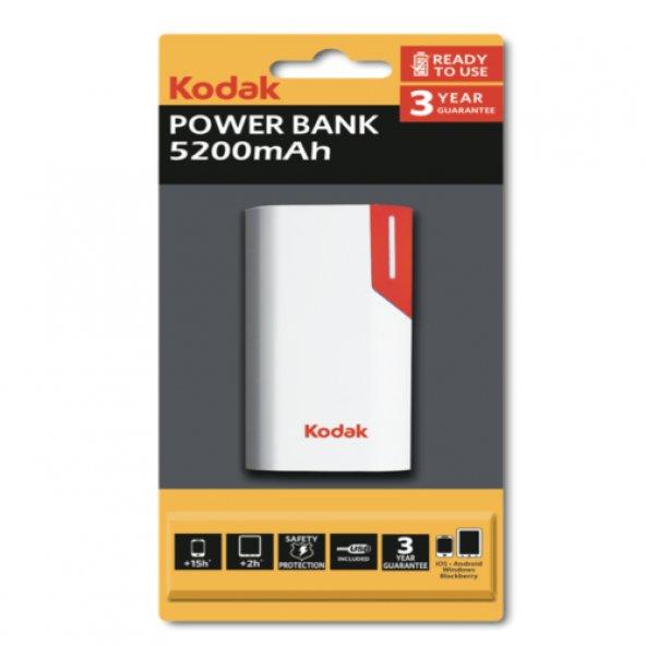 Kodak 5200 Mah Taşınabilir Şarj Cihazı