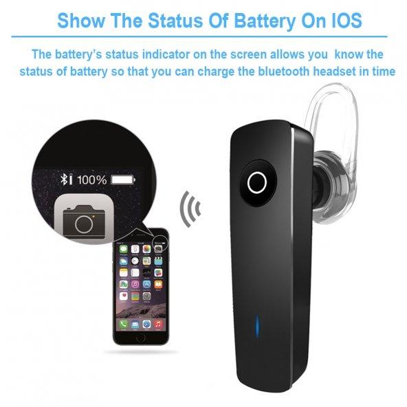 Palblue 165 Slim Bluetooth Kulaklık Müzik Dinleme