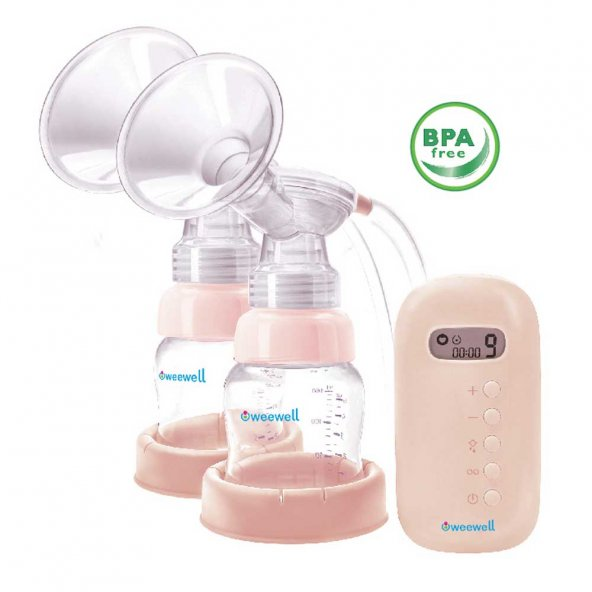 Weewell 2 in 1 Electric Breast Pump - 2'li Elektrikli Göğüs Pompası