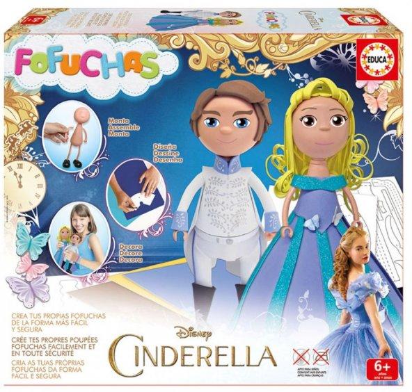 Educa Fofuchas Cinderella ve Prens Bebekleri Kendin Yap