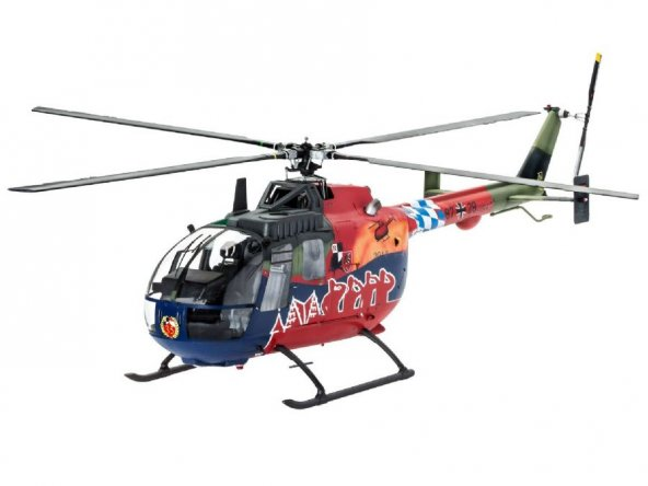 Revell 04906 BO 105 35th Anniver Askeri Helikopter
