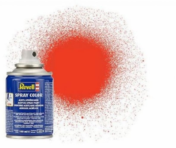 Revell Spray Boya L Orange Mat 20 ml