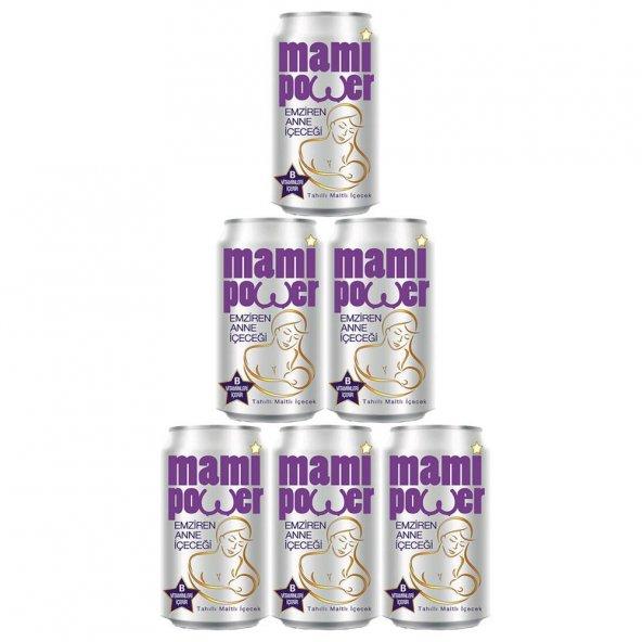 Mami Power Emziren Anne  içecek 330 ml. 6 lı