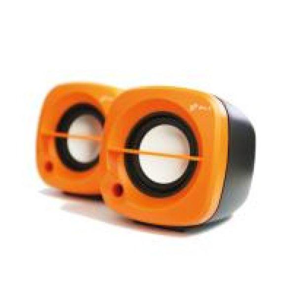 Siyah-Turuncu Multimedia 2.0 Speaker