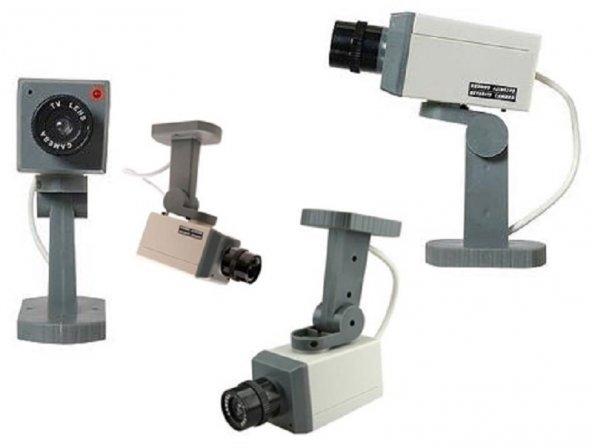 Hareket Sensörlü Caydırıcı Güvenlik Kamerası