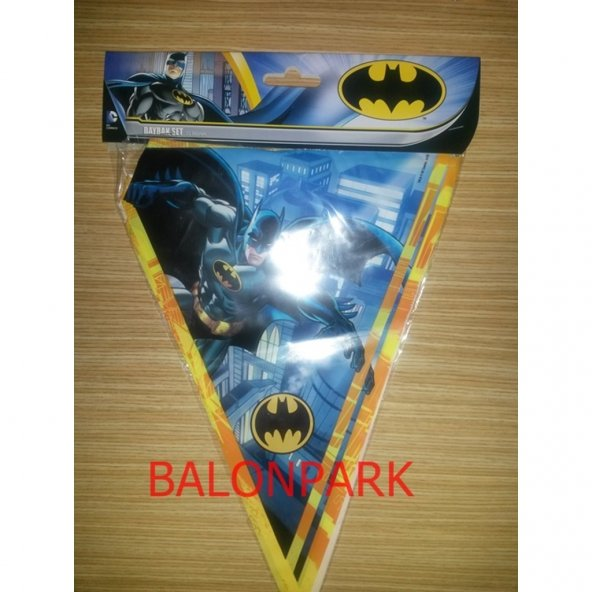 Batman 16 Kişilik 13 Parça Doğum Günü Set Midi