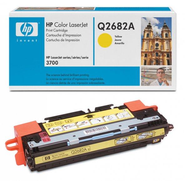 HP Q2682A (311A) 3700 SARI TONER ORJİNAL 6.000 SAYFA