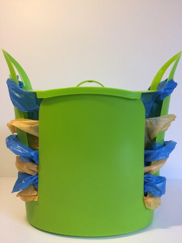 Torbox Çok Amaçlı Çöp Kovası - Yeşil
