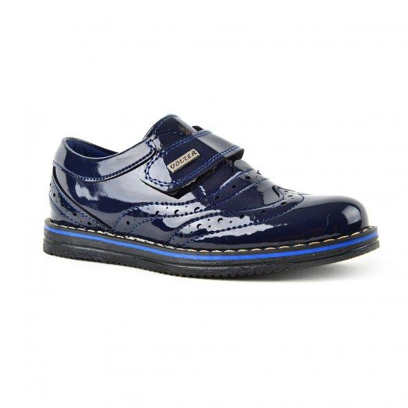 Volter Cırtlı Rugan Erkek Çocuk Klasik Spor Ayakkabı