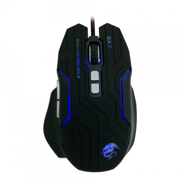 Frisby FM-G3285K X7 Kablolu Macro Gaming Oyuncu Mouse + Mouse Pad Hediyeli Işıklı Ledli Mouse