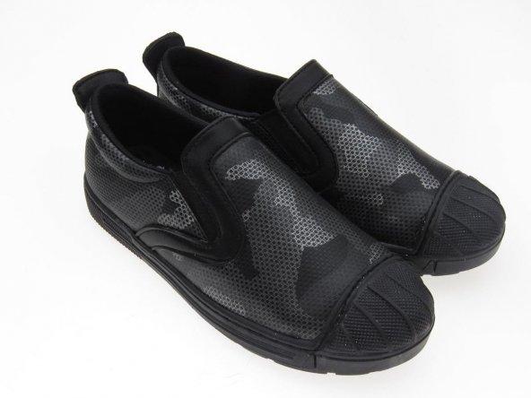 Tomurcukbebe Erkek Çocuk Kamuflaj Spor Ayakkabı