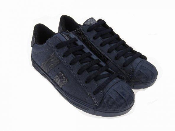 Tomurcukbebe Erkek Çocuk Fermuarlı Spor Ayakkabı