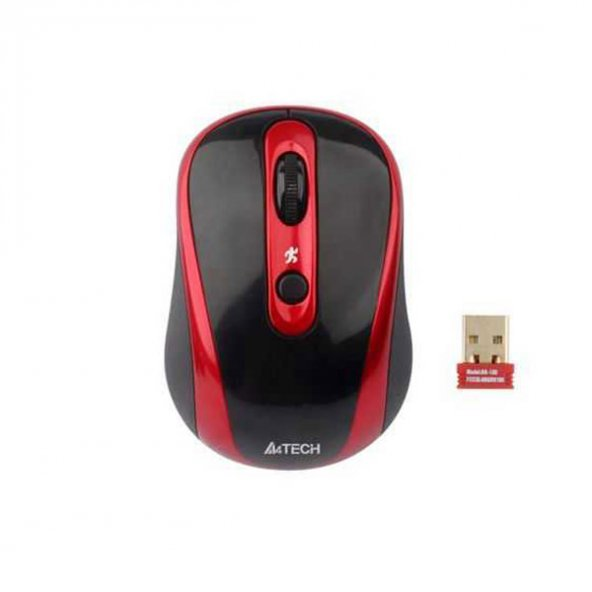 A4 Tech G7-250DX-2 Kablosuz Mouse Siyah-Kırmızı
