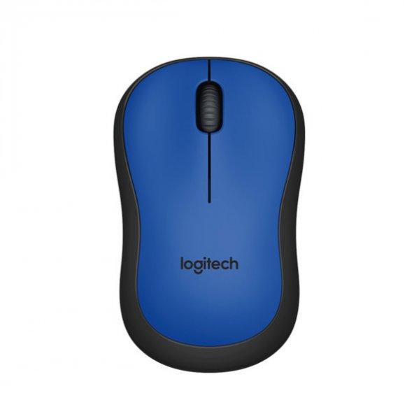 Logitech M220 Kablosuz Silent Mouse 910-004879,Mavi
