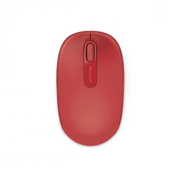 Microsoft Mobile 1850 Kablosuz Mouse (U7Z-00033),Kırmızı