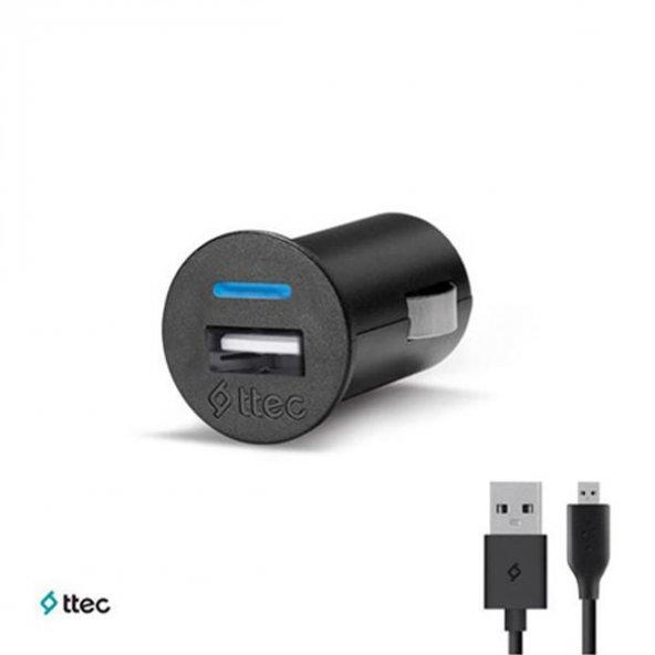 Ttec - Micro USB Compact Araç Şarj Cihazı - 2CKC753