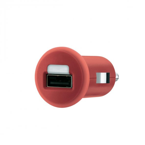 Belkın Unıversal Araç Şarz Cihazı 5V 1000MAH BLK-F8J018CW,Kırmızı