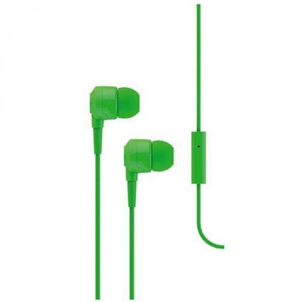 Ttec J10 Mikrofonlu Kulak İçi Kulaklık 3.5mm 2KMM10Y,Yeşil