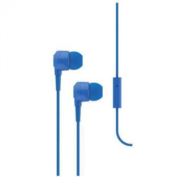 Ttec J10 Mikrofonlu Kulak İçi Kulaklık 3.5mm 2KMM10M,Mavi