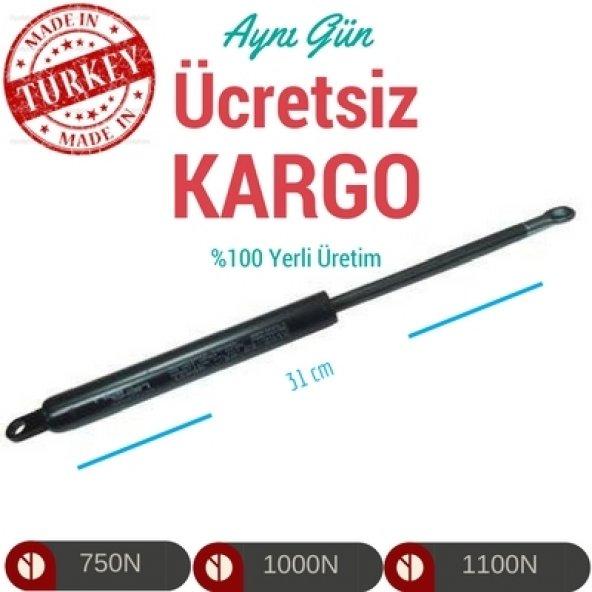 Baza Amortisörü 750N (1Çift) 30-31cm Uzunluk
