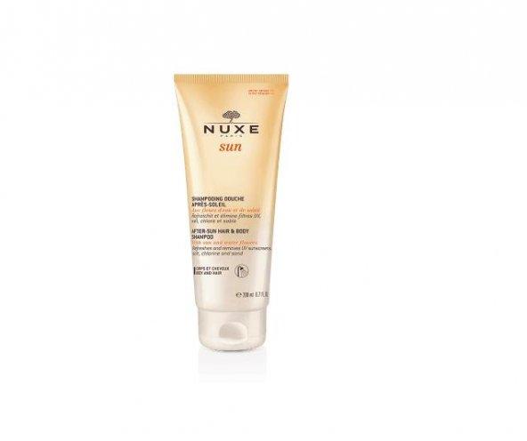 Nuxe Sun After Sun Hair Body Shampoo Güneş Sonrası Duş Şampuanı 200 ml