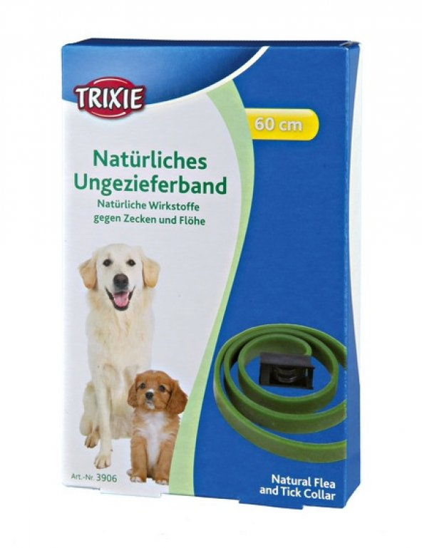 Trixie köpek bitkisel pire tasması