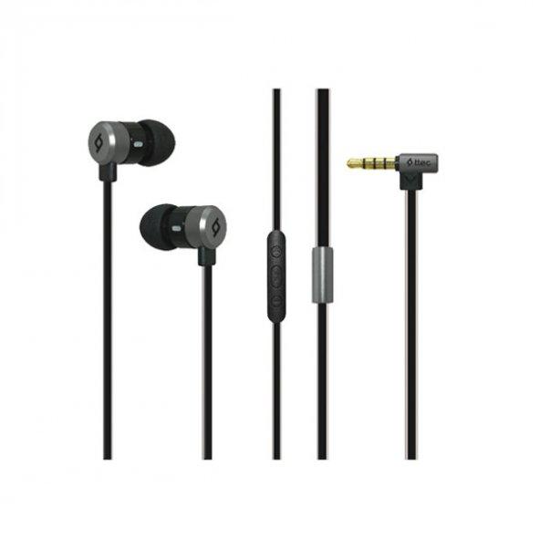 Ttec EchoPro™ - Uzay Grisi iPhone ve Akıllı Telefonlar için Kulakiçi Mikrofonlu Stereo Kulaklık 2KM111S