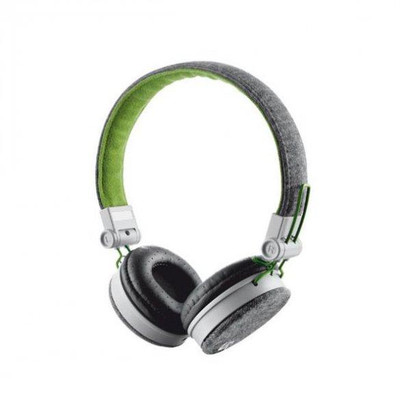 Trust Urbanrevolt 20080 Fyber Headphone Gri/Yeşil