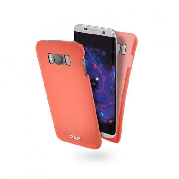 SBS Cool Color Feel Samsung Galaxy S8 Kırmızı Kılıf